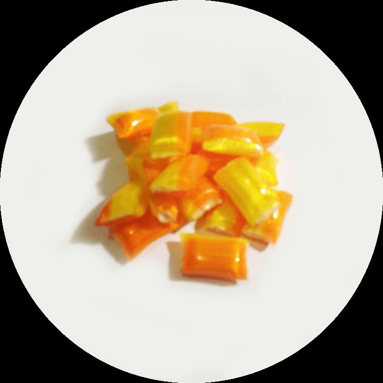 Mango White Choc Filled
