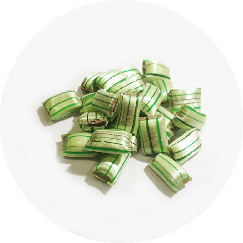 Spearmint Choc Filled